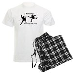Hook Up and Score Men's Light Pajamas