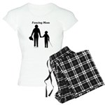 Fencing Mom Women's Light Pajamas
