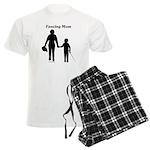 Fencing Mom Men's Light Pajamas
