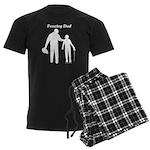 Fencing Dad Men's Dark Pajamas
