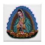 Lady of Guadalupe T1 Tile Coaster