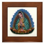 Lady of Guadalupe T1 Framed Tile