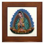 Lady of Guadalupe T1 Framed Tile
