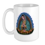 Lady of Guadalupe T1 Large Mug