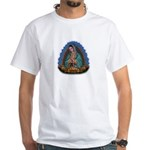Lady of Guadalupe T1 White T-Shirt