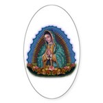 Lady of Guadalupe T1 Sticker (Oval 10 pk)