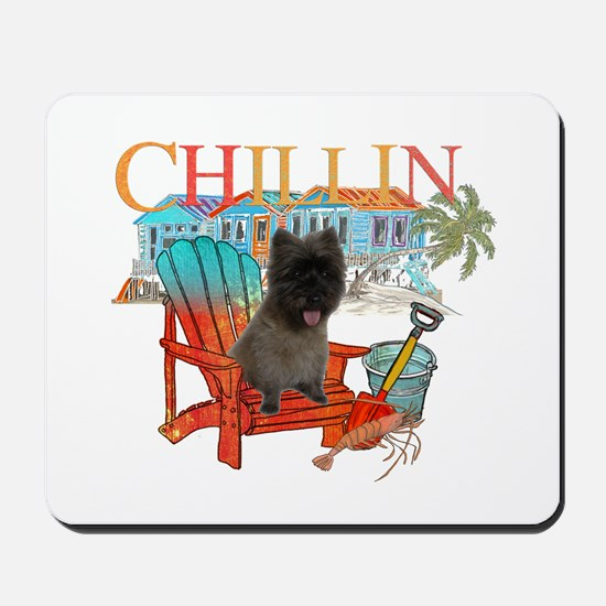 Cairn Terrier Chillin' Mousepad
