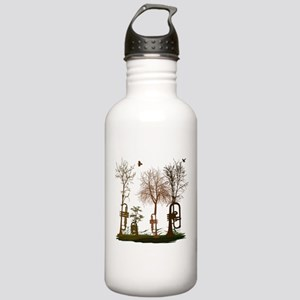 Trumpets as Trees Stainless Water Bottle 1.0L