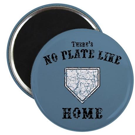 "No Plate Like Home II 2.25"" Magnet (10 pack)"