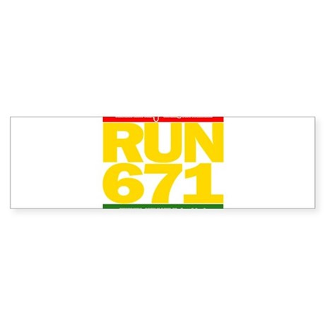 RUN 671 GUAM REGGEA Island Kings tee Sticker (Bump