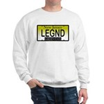 Legend NJ Vanity Plate Sweatshirt