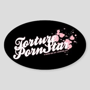 TORTURE Sticker (Oval)