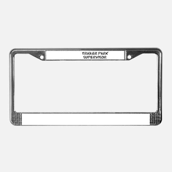 Funny Redneck License Plate Frame