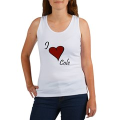 I love Cole Women's Tank Top