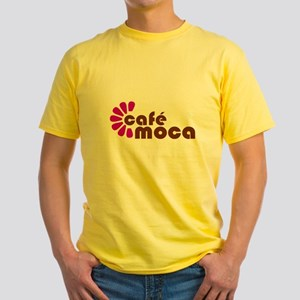 cafe Yellow T-Shirt