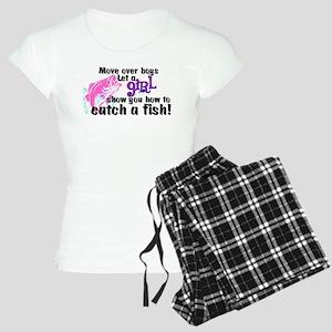 Move Over Boys - Fish Women's Light Pajamas