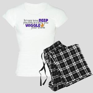 Wiggle your worm Women's Light Pajamas