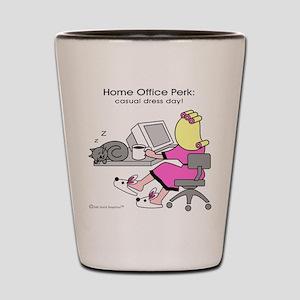 Home Office Perk: Casual Dress Day! (Shot Glass)