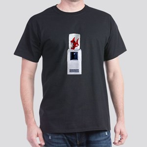 Water Cooler Black T-Shirt