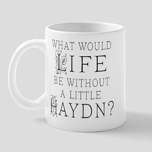 Haydn Quote Mug