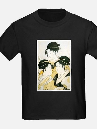 Utamaro Three Women T
