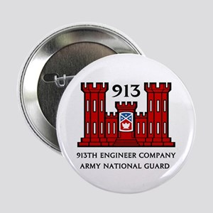 913th Engineer Company Button