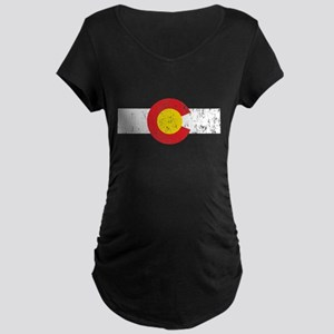 Colorado Vintage Maternity Dark T-Shirt