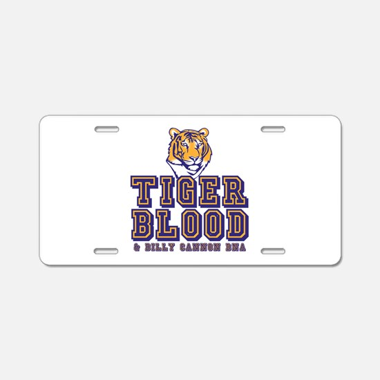 Tiger Blood Aluminum License Plate