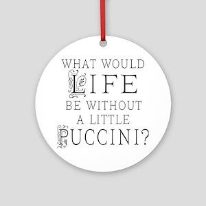 Puccini Opera Lover Ornament (Round)