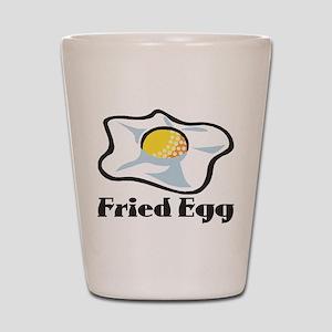 Fried Egg Shot Glass