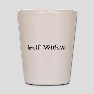Golf Widow Shot Glass