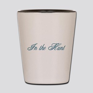 In the Hunt Shot Glass
