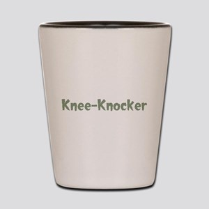 Knee-Knocker Shot Glass