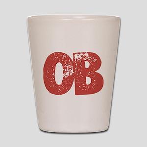 OB Shot Glass