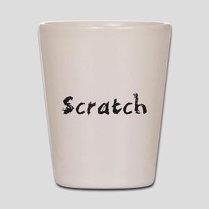 Scratch Shot Glass