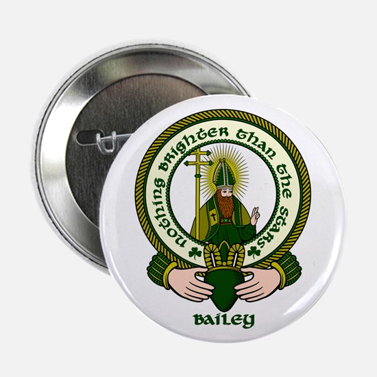 "Bailey Clan Motto 2.25"" Button (10 pack)"