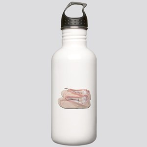 Pink Ballet Slippers Stainless Water Bottle 1.0L