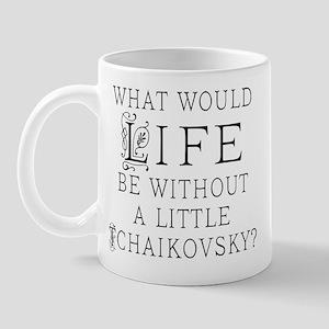 Tchaikovsky Music Quote Mug