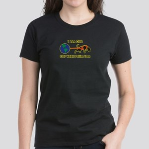 1 Ton Club Women's Dark T-Shirt