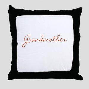 Grandmother Throw Pillow