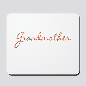 Grandmother Mousepad