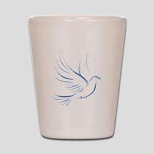 Dove of Peace Shot Glass
