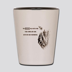 The LORD wil Watch Shot Glass