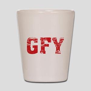 GFY Shot Glass