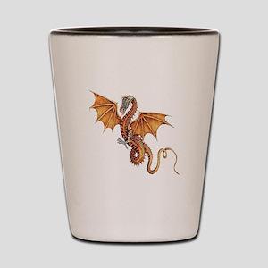 Fantasy Dragon Shot Glass