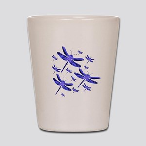 Dragonflies Shot Glass