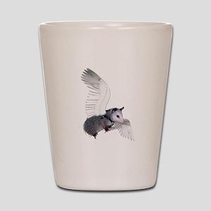 Angel Possum Shot Glass
