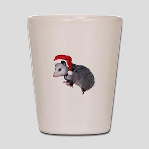 Santa Possum Shot Glass