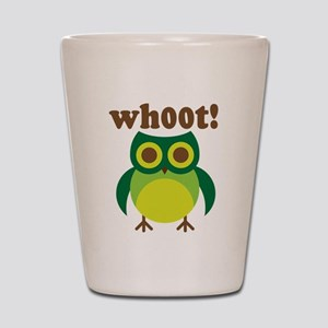 wh00t Goes The Owl Shot Glass