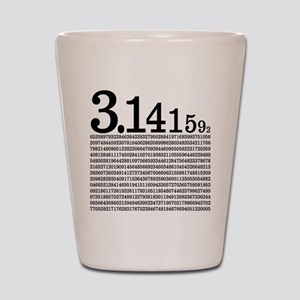 3.1415926 Pi Shot Glass
